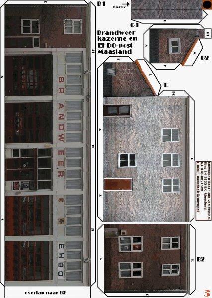Huizen architectuur leon schuijt bouwplaten - Model van huisarchitectuur ...